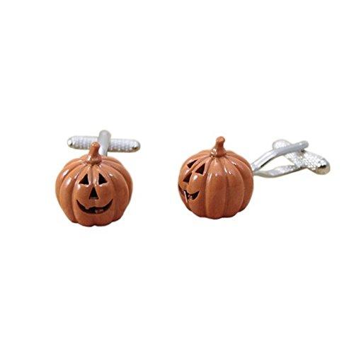 Procuffs Manschettenknöpfe Halloween-Kürbis-Kostüm, Orange