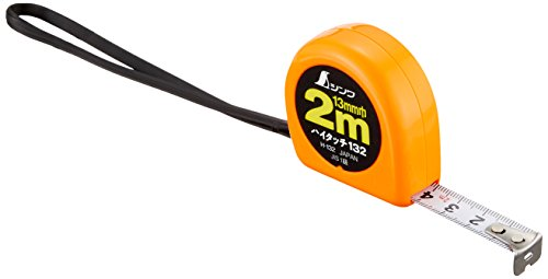 シンワ測定(Shinwa Sokutei) コンベックス ハイタッチ JIS1級 フリータイプ H-132 78002