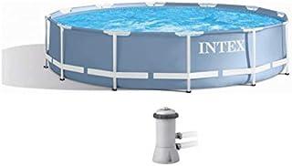 INTEX Prism Frame Pool (366 x 76 cm) -28212 with filter pump