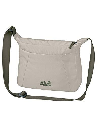 Jack Wolfskin Damen Valparaiso Bag Umhängetasche Alltag Tasche, Dusty Grey, ONE Size
