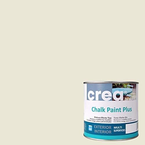 Pintura a la Tiza – Chalk Paint – Pinturas para decoración, restauración de muebles, madera – Pintura efecto Tiza (500ml) (Beige Tenue)