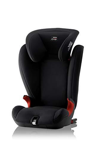 Britax Römer Kindersitz 3,5 - 12 Jahre I 15 - 36 kg I KIDFIX SL BLACK SERIES Autositz Gruppe 2/3 I Cosmos Black