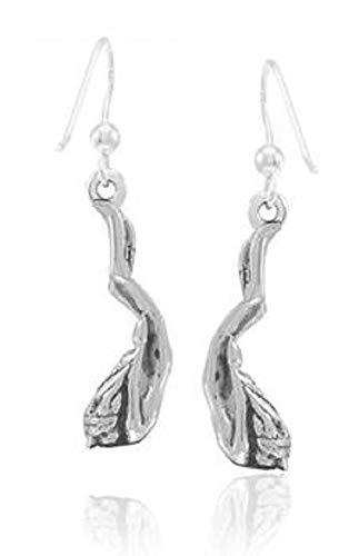 Freitauchen Mädchen lange Ohrringe