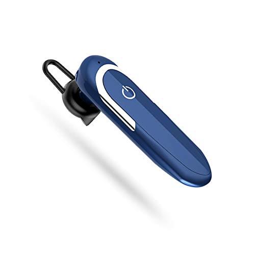 Auriculares Bluetooth V5.0 Auriculares De Manos Libres Para Negocios Auriculares Inalámbricos Individuales Micrófono Reducción De Ruido Impermeable A Prueba De Sudor En Auriculares Para Oficina De Neg
