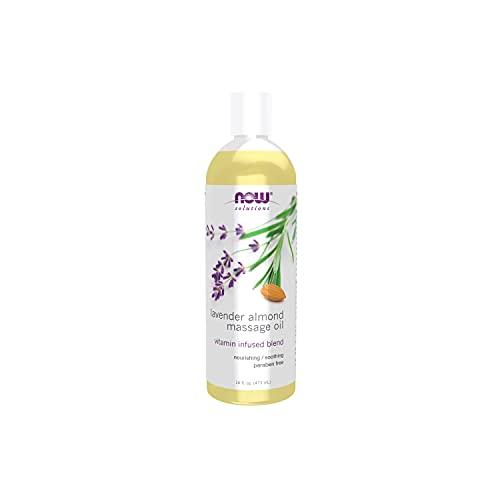 NOW Foods Lavender Almond Massage Oil