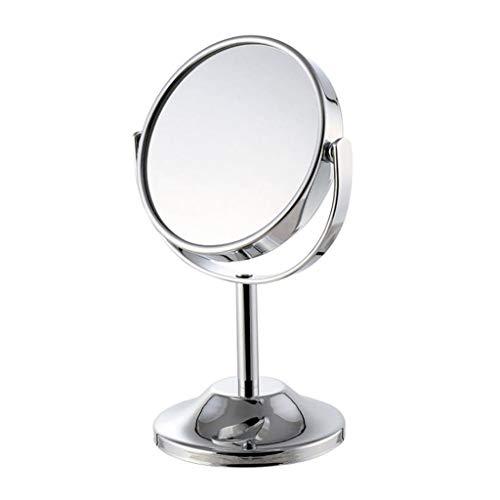 Miroir Maquillage, Miroir de maquillage double face à grossissement 3X, miroir de maquillage double face pour ordinateur de bureau Miroir de maquillag