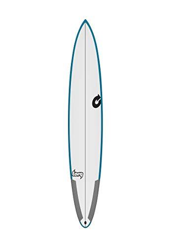 Torq Tabla de Surf Epoxy Tec M2-S 7.0 Rail Verde, Azul Performance Funboard Thruster Quad