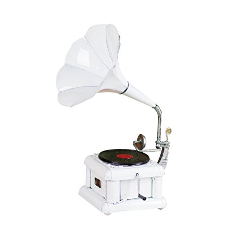 DECORACIÓN MMM- Antiguo Modelo de fonógrafo, Tocadiscos de Vinilo Adornos Vintage Modelo de Hierro Props Bar hogar de Regalo (Color : #10)