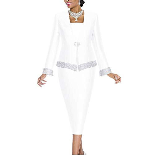Go Mai Women Church Suits Church Dress Suit for Ladies Mother Gifts Special Occasion Wedding Party...