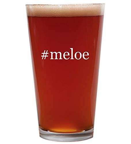 #meloe - 16oz Beer Pint Glass Cup