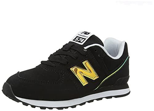 New Balance 574 Sneaker, Schwarz, 39 EU