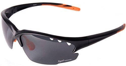 Rapid Eyewear Fusion Solo SPORTBRILLE für Damen und Herren. UV 400 Polarisiert Sport Sonnenbrille. Ideal Radbrille, Autobrille, Laufenbrille etc
