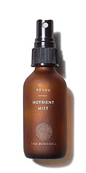 True Botanicals - Organic RENEW Nutrient Face Mist | Clean Non-Toxic Natural Skincare  2 fl oz | 59 ml