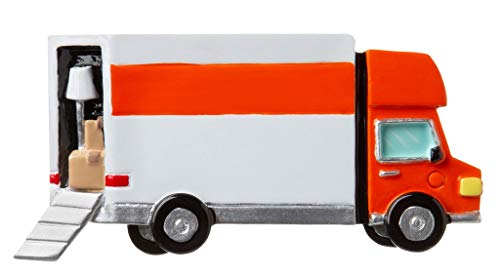 Grantwood Technology Personalized Christmas Ornament General- Moving Van