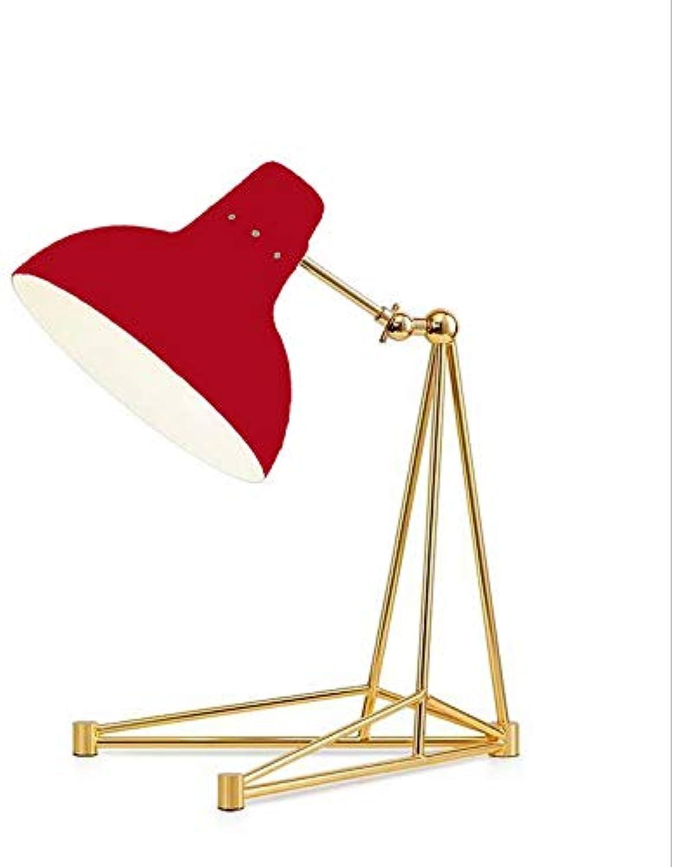 OOFAY BXD BXD BXD Moderne Minimalistische Metall Tischlampe Wohnzimmer Schlafzimmer Studie Persönlichkeit Nachttischlampe (Rot) B07GDDJT29     | Jeder beschriebene Artikel ist verfügbar  dd88de