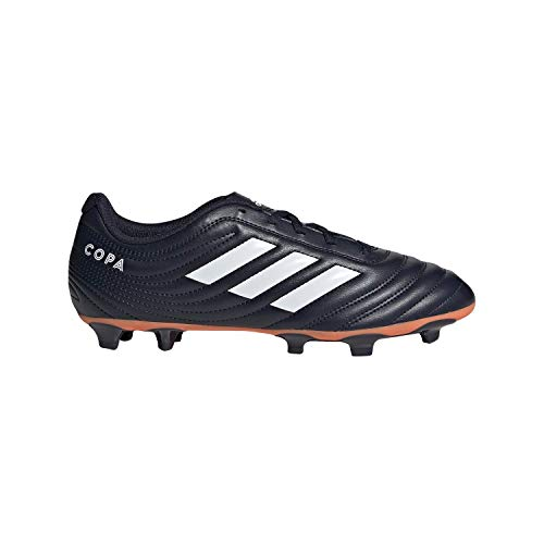 adidas Copa 19.4 Firm Ground Soccer Shoe, Legend Ink/White/hi-res Coral, 8 M US