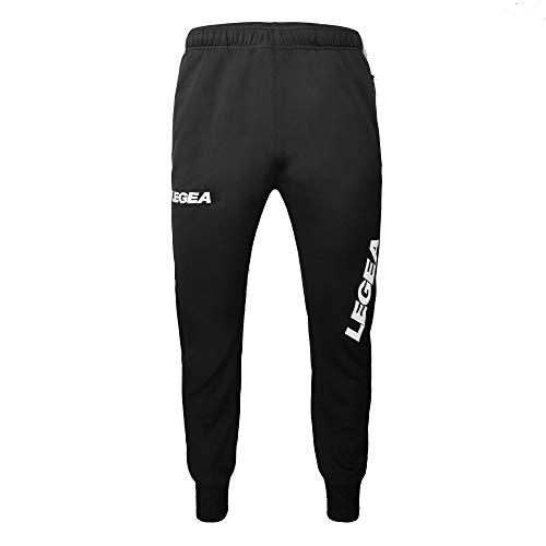 LEGEA  - Pantalones Cortos Deportivos para Hombre, Color Negro, Talla S