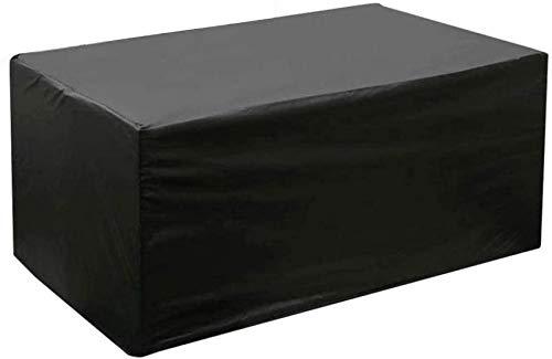 UYZ Fundas para Muebles de jardín 300x200x70cm, Fundas para mesas de Patio rectangulares para Exteriores, Juego de Fundas para Muebles de Patio Impermeable 420D Tejido Oxford de Alta Resistencia