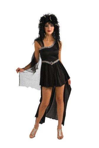 Rubie's Costume Medusa Dress With Headpiece, Black, Small