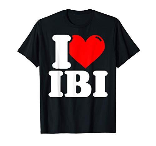 I love Ibi Camiseta