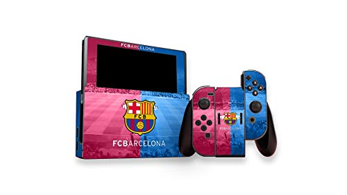 Skin Official Barcelona FC - Nintendo Switch (console e controle)