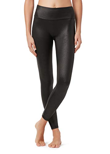 Calzedonia Damen Total-Shaper-Leggings mit Leder-Effekt