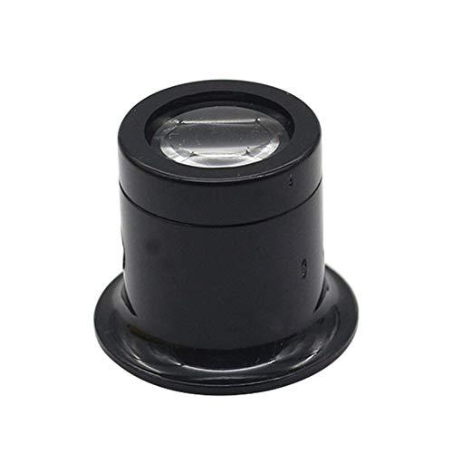 HWNGDI 5X 10x Magnifier Joyero Ocular Ojo Lupa Relojero Lupa Joyería Lupa Lupa Lupa para Reparar Ojo Lupa Herramienta de Vidrio Fácil de Cargar (Color : 10X)