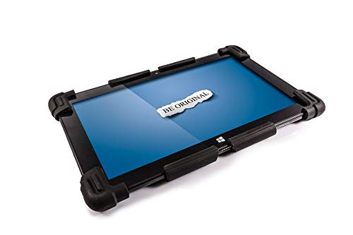 Universal Tablet PC Silicone Gel Case for 9.7' to 12.5' - Suitable for  9.7', 10', 10.1', 10.6', 11.1', 11.6', 12', 12.5' Tablet PCs (BLACK)