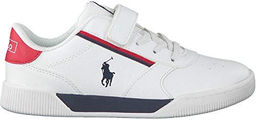 Polo Ralph Lauren Sneaker Low Keelin Ps Weiss Jungen - 34 EU