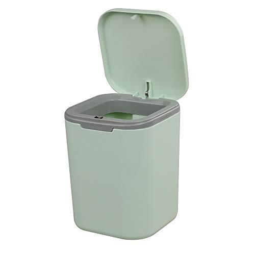 Gitany Cubo de Basura, Verde Papelera Pequeña plástico