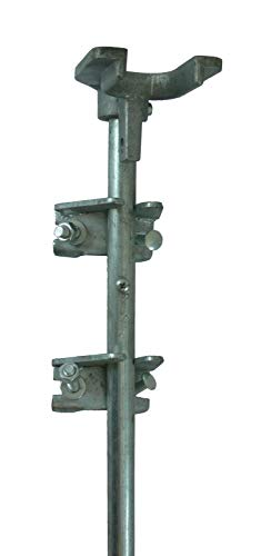 Premium WIsh Outlet Chain Link Drop Rod/PIN Latch for 1-3/8' Frame Double Gate - Chain Link Fence