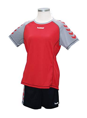 Hummel New Nostalgia Training Set Wo - scarlet/black, Größe:XS