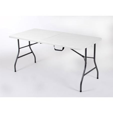 Mainstays 5' Centerfold Table, White