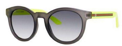 Gucci Occhiali da sole Da Donna 3653/S Youngster - 19O/JJ: Grigio / Giallo fluorescente - 51mm