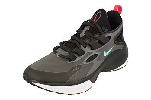 Nike Signal D/MS/X Hombre Running Trainers AT5303 Sneakers Zapatos (UK 6 US 6.5 EU 39, Black Darek Grey 005)