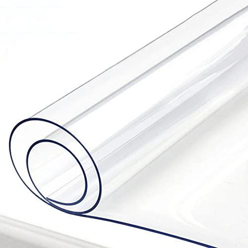 ERLAN Alfombras de Pasillo Alfombra de PVC Transparente de Entrada, Largo 1m 3m 5m 7m 9m Alfombrilla para Silla Protector de Corredor de Piso para Baño Ropa Sucia Mascotas, 1mm de Espesor