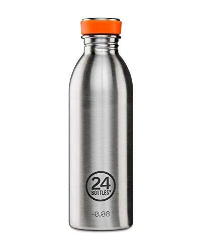 24Bottles Urban Unisex-Flasche für Erwachsene, Unisex, Unisex, Steel Life 055, stahl, 500 ml
