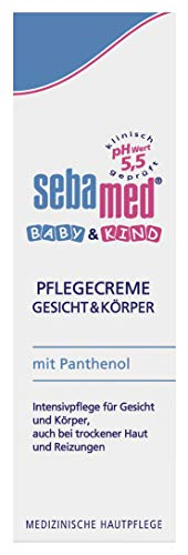 Sebamed Baby Pflegecreme, 3er Pack (3 x 75 ml)