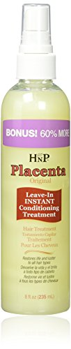 Hask Placenta Original Leave-in Instant Conditioning Treatment, 8 Ounce