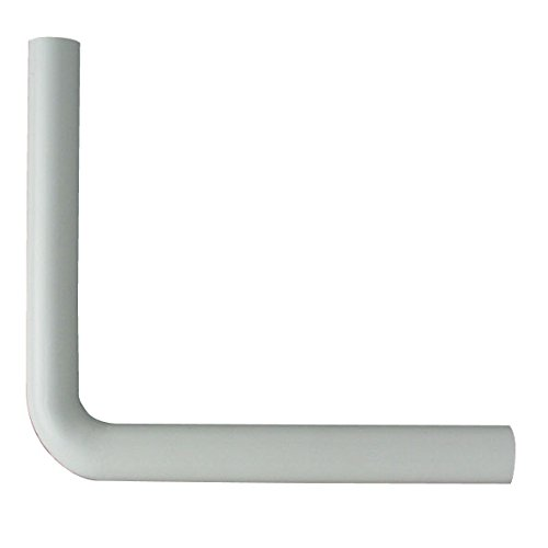 Cornat CSPRB39000 Spülrohrbogen, 390 x 350 mm, weiß