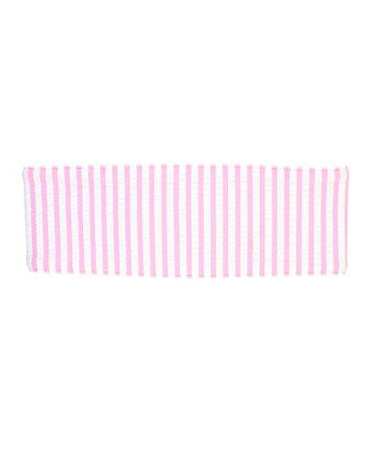 RuffleButts Girls Pink Seersucker Swimwear Headband - 2T-8