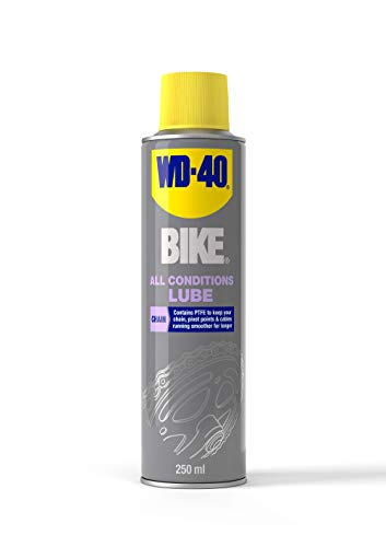 WD-40 Bike All Conditions - Lubrificante per catena da 250 ml