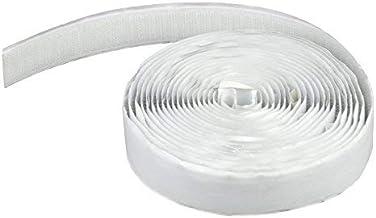 Apalus Ruban Adhésif Crochet pour Moustiquaire - Ruban à Crochets- 630x2 CM (Blanc)