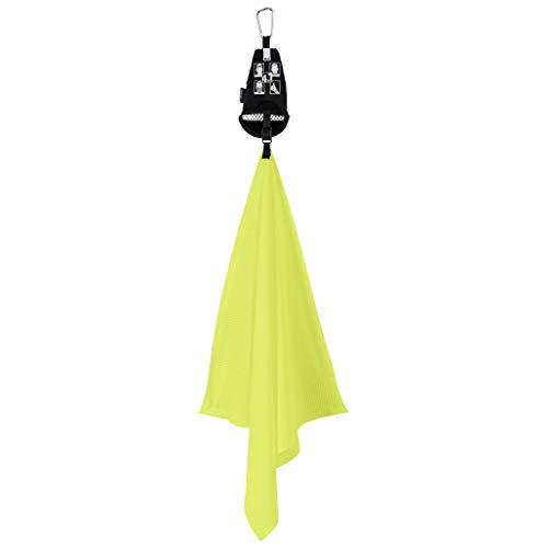 Jack Wolfskin Unisex– Erwachsene Ultra Cool Towel Handtuch, neon Yellow, ONE Size