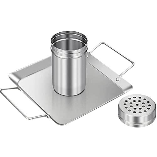 Rejilla para asador de pollo para latas de cerveza, soporte vertical de acero inoxidable para asar a la parrilla, ahumador u horno, apto para lavavajillas, apto para barbacoa, apto para lavavajillas