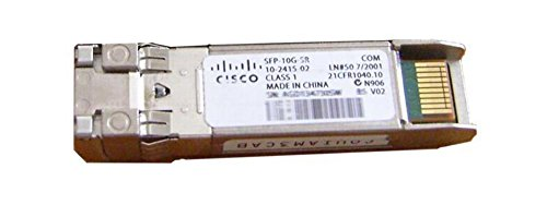 Cisco SFP-10G-SR-S= Fibra óptica 850nm 10000Mbit/s SFP+ Red