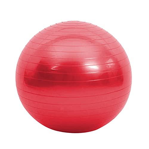 MEXEE Deportes Yoga Balls Pilates Fitness Ball Gym Balance Ejercicio Pilates Entrenamiento Masaje Ball rojo