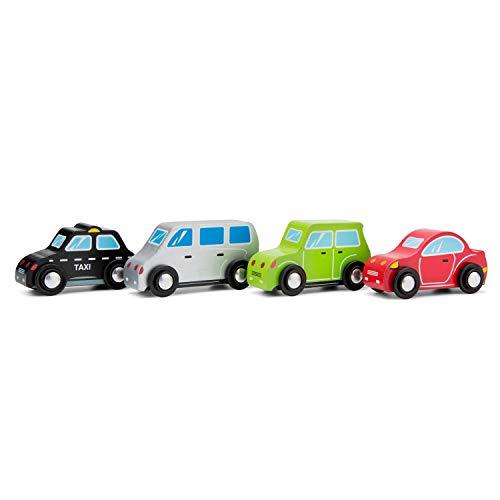 New Classic Toys - 11934 - Spielfahrzeuge - Fahrzeugset - 4 Fahrzeuge