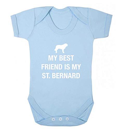 Flox Creative Gilet pour bébé Best Friend St. Bernard - Bleu - XS