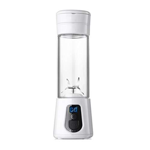 Creative Light- La tasse de jus portative, maison électrique de machine de cuisson, mini machine de jus, presse-agrumes multifonctions, mélangeur parfait pour l'usage personnel (Couleur : Blanc)